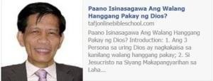 Paano Isinasagawa Ang Walang Hanggang Pakay ng Dios